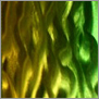 Yust metal art color color yellow green