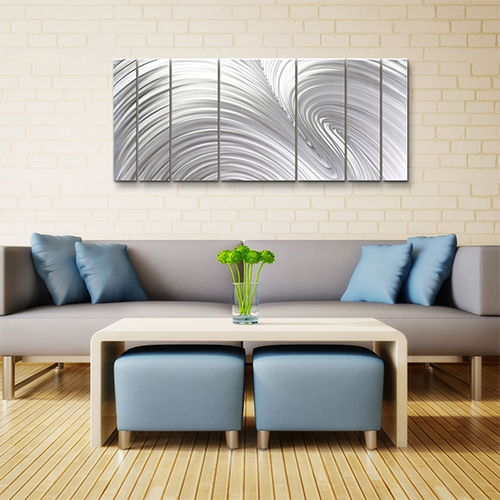 Contemporary Metal Wall Art: FUSION