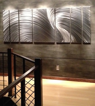 Large Metal Wall Art | Huge Corporate Installation