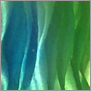 Yust metal art color color cobalt green